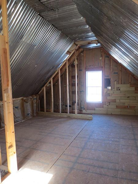 Best Attic Before And Afters 2015 Attic Remodel Attic Renovation Attic Lighting