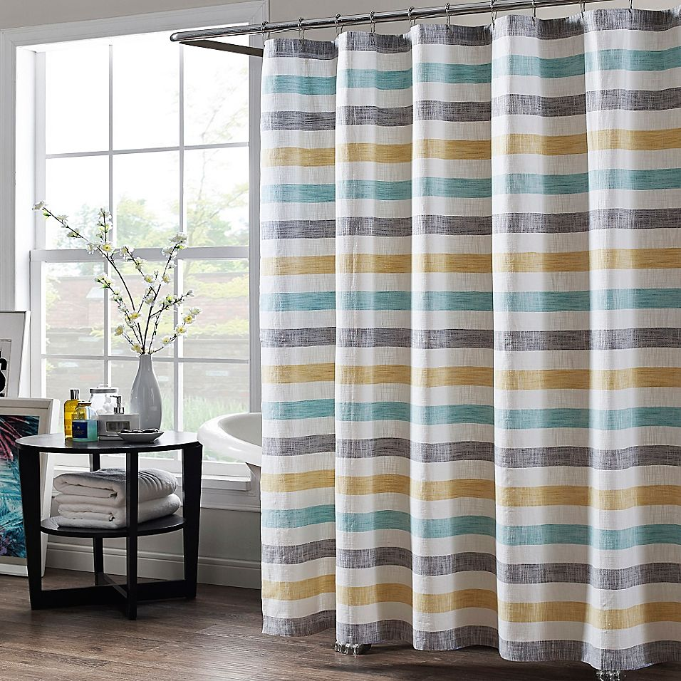 Greta 72 X 72 Shower Curtain Multi Long Shower Curtains