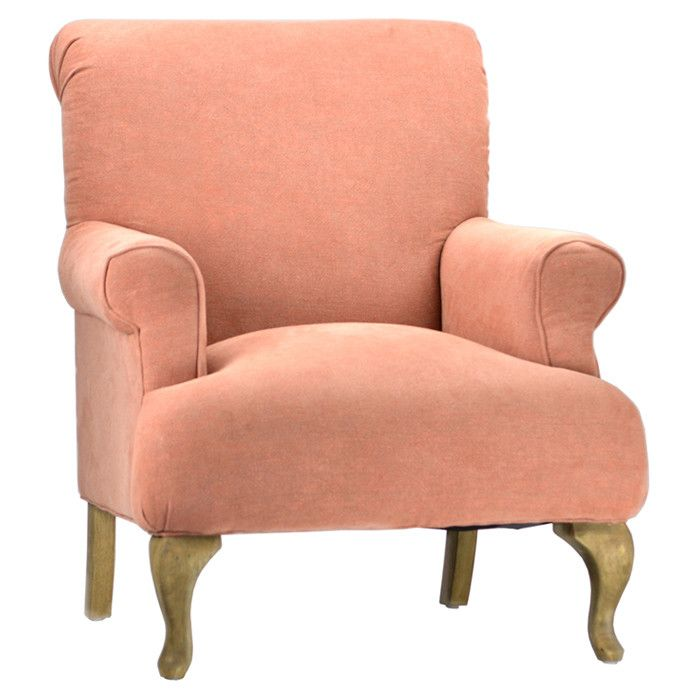 Peach Colored Armchair