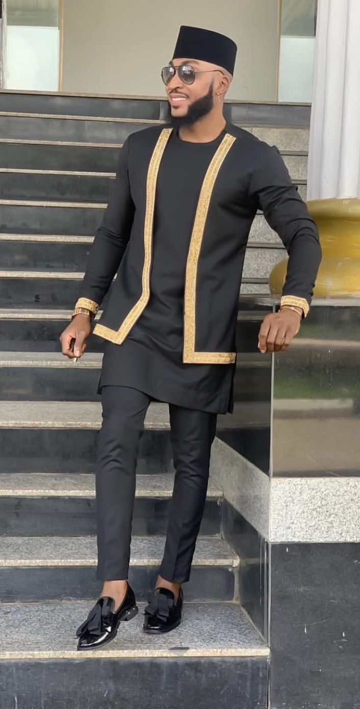 Pin by Ashun Anand on Men mens fashion | African shirts for