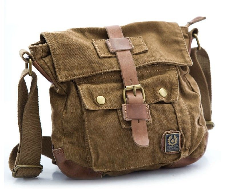 Small canvas messenger bag, mens canvas messenger bags - YEPBAG ...