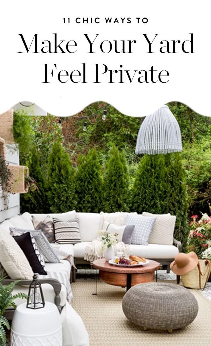 11 Backyard Privacy Ideas to Upgrade Your Outdoor Space ...