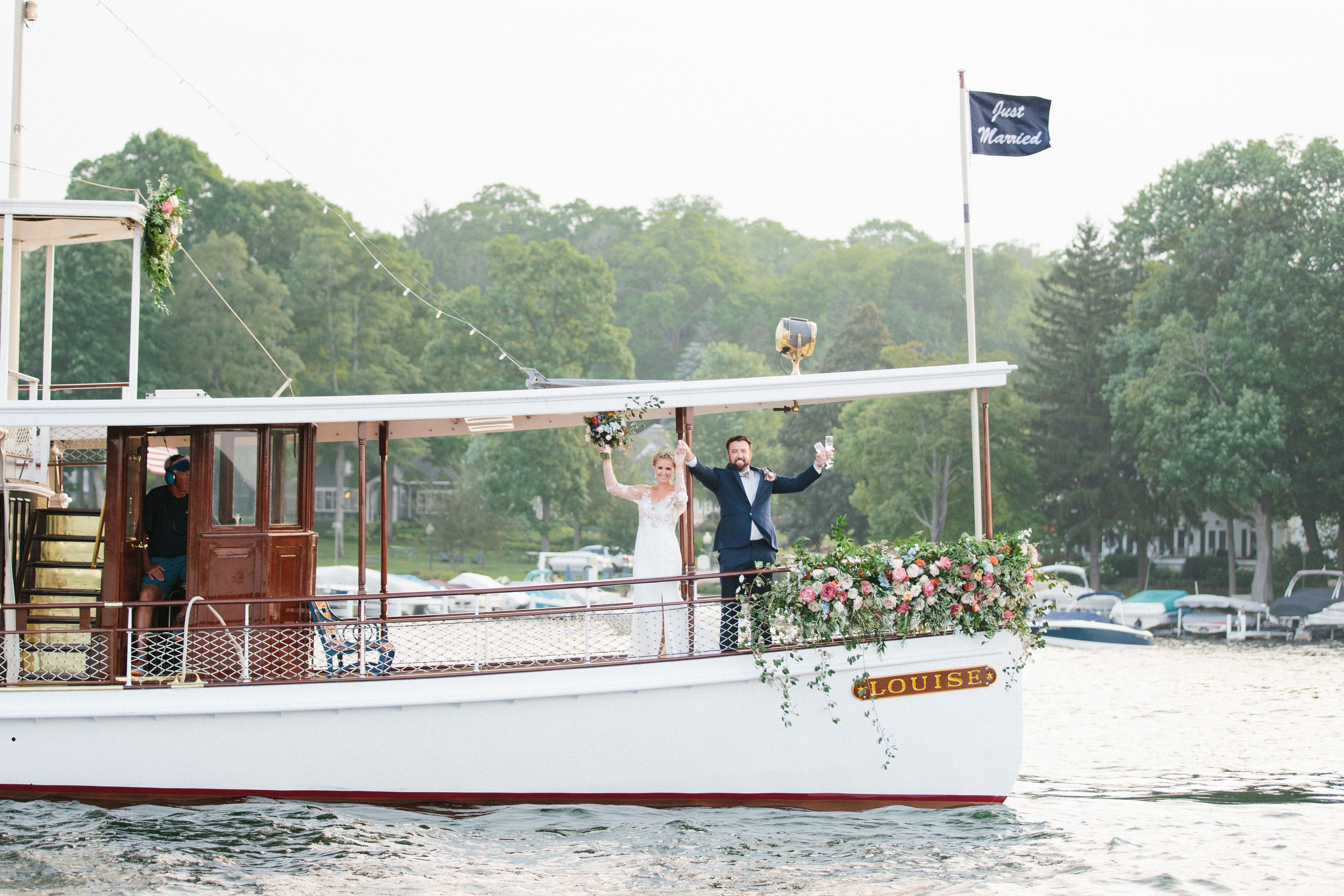 Mediterranean styled wedding at pier 290 lake geneva