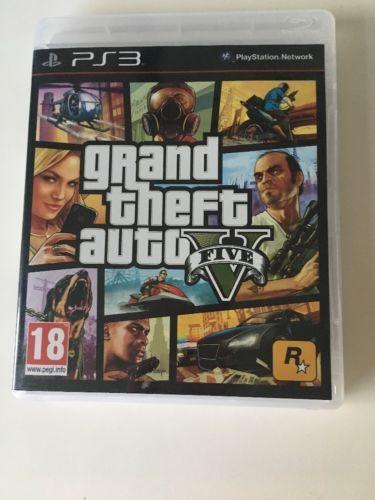 Grand Theft Auto V (Sony PlayStation 3 2013) - European Version https://t.co/FqD38GuZfX https://t.co/vQU7GABDQu