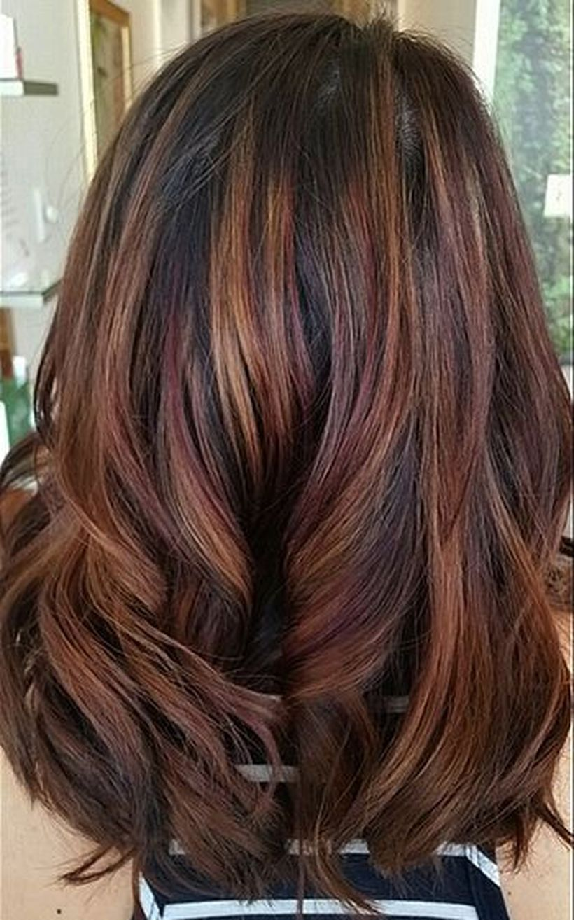 There Are A Lot Of Trendy Hairstyles Colors For Brunettes In This Fall That May Totally Alter The Ma In 2020 Fall Hair Color For Brunettes Hair Styles Hair Styles 2016