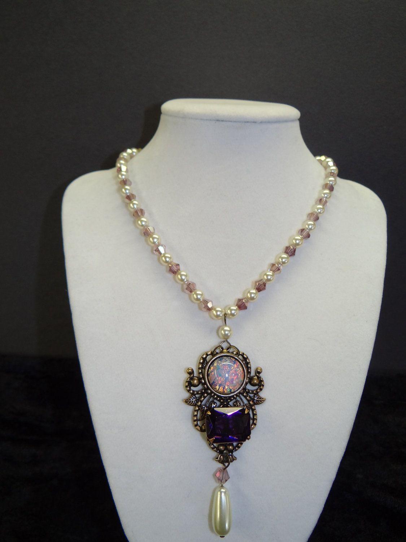queen jane seymour tudor renaissance portrait necklace via. Black Bedroom Furniture Sets. Home Design Ideas