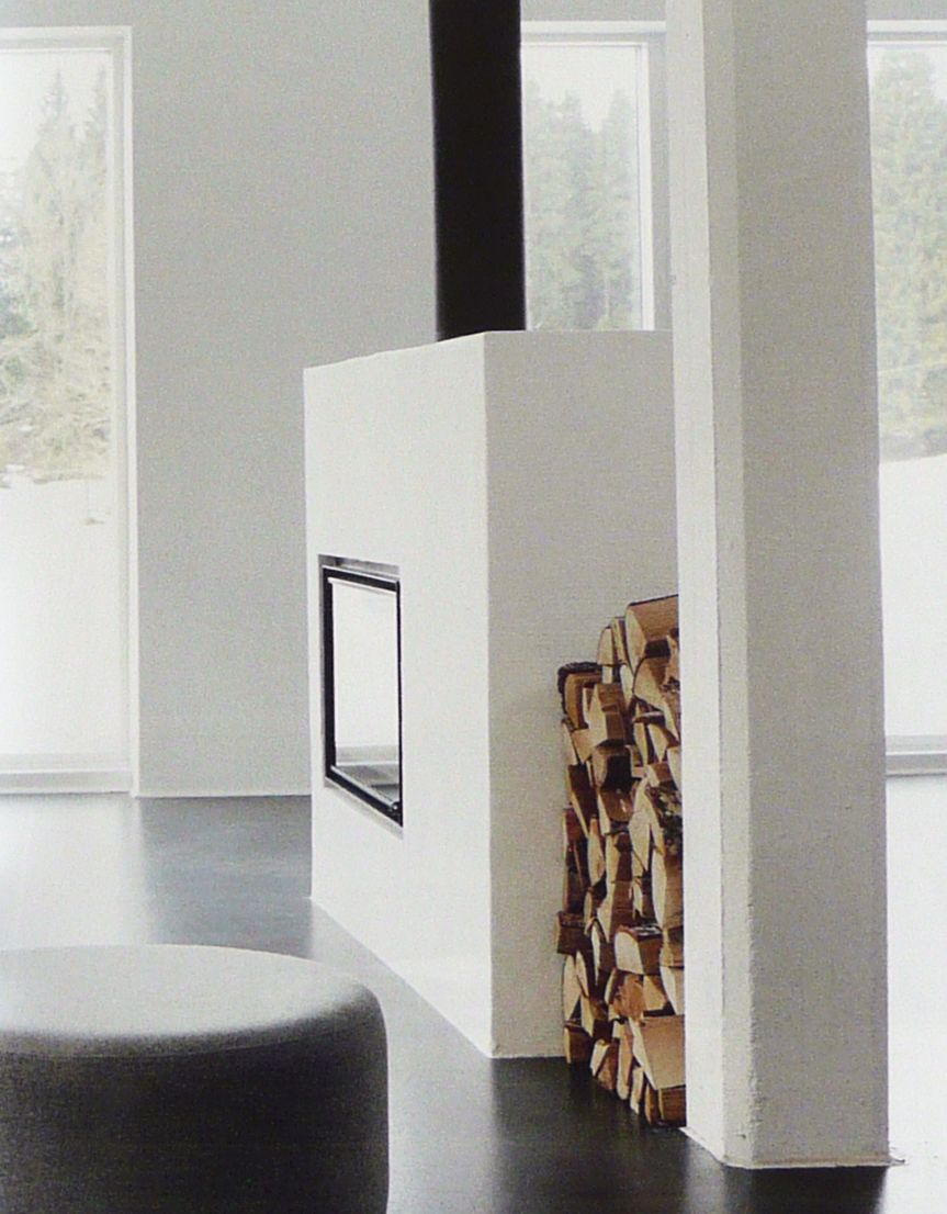 Fireplace as room devider fireplaces pinterest room for Fireplace room divider