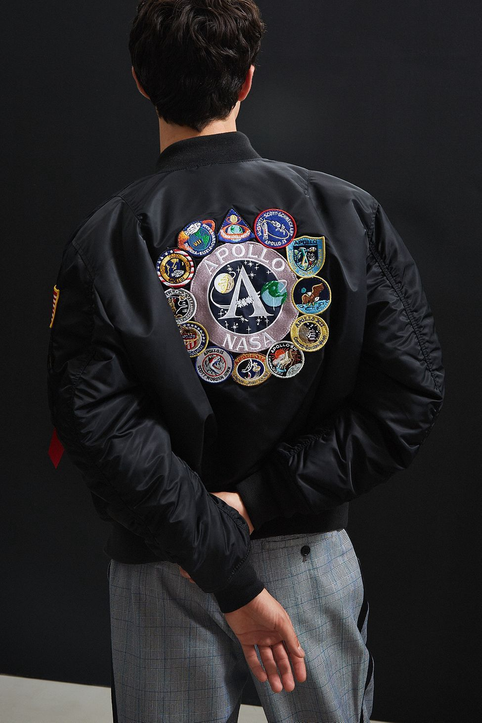 Pin by Susan Díaz on Belle Bomber jacket, Nasa jacket