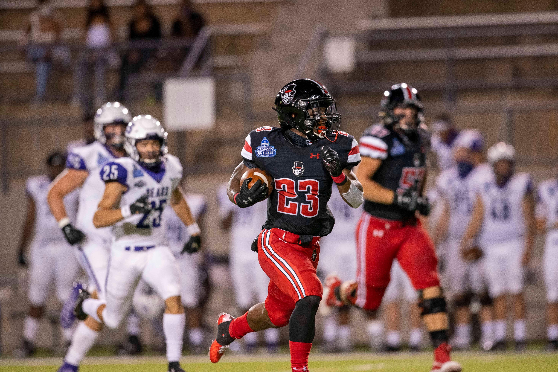 Austin peay rb cj evans scores 75yard touchdown on first