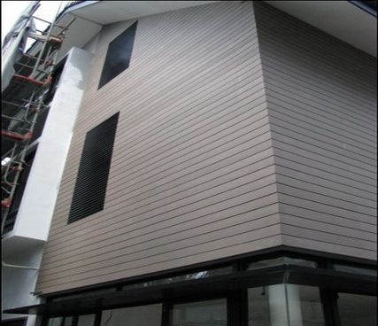 Solid Wpc Wall Panel UAE、composite Retaining Wall Panel Australia