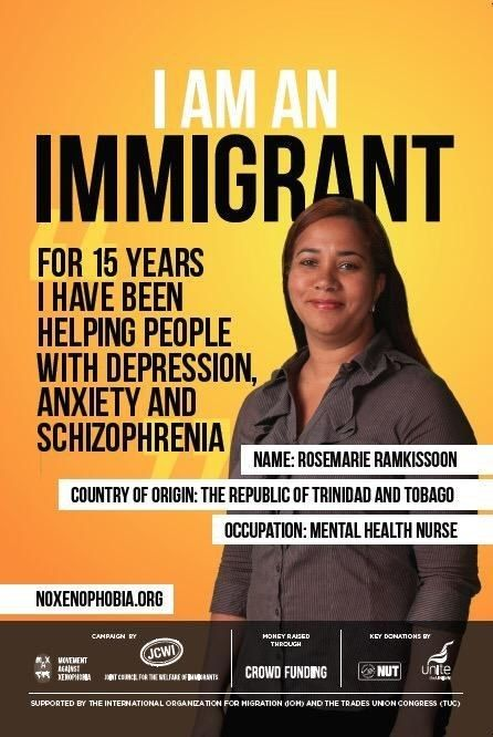 Posters celebrating the contribution of immigrants to Britain have begun appearing across the UK. | These Posters Celebrating Immigrants Are Appearing All Over The UK