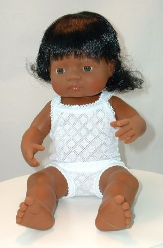 Little Shanti A Brown Anatomically Correct Little Baby Girl Doll Little Baby Girl Brown Babies Native American Baby