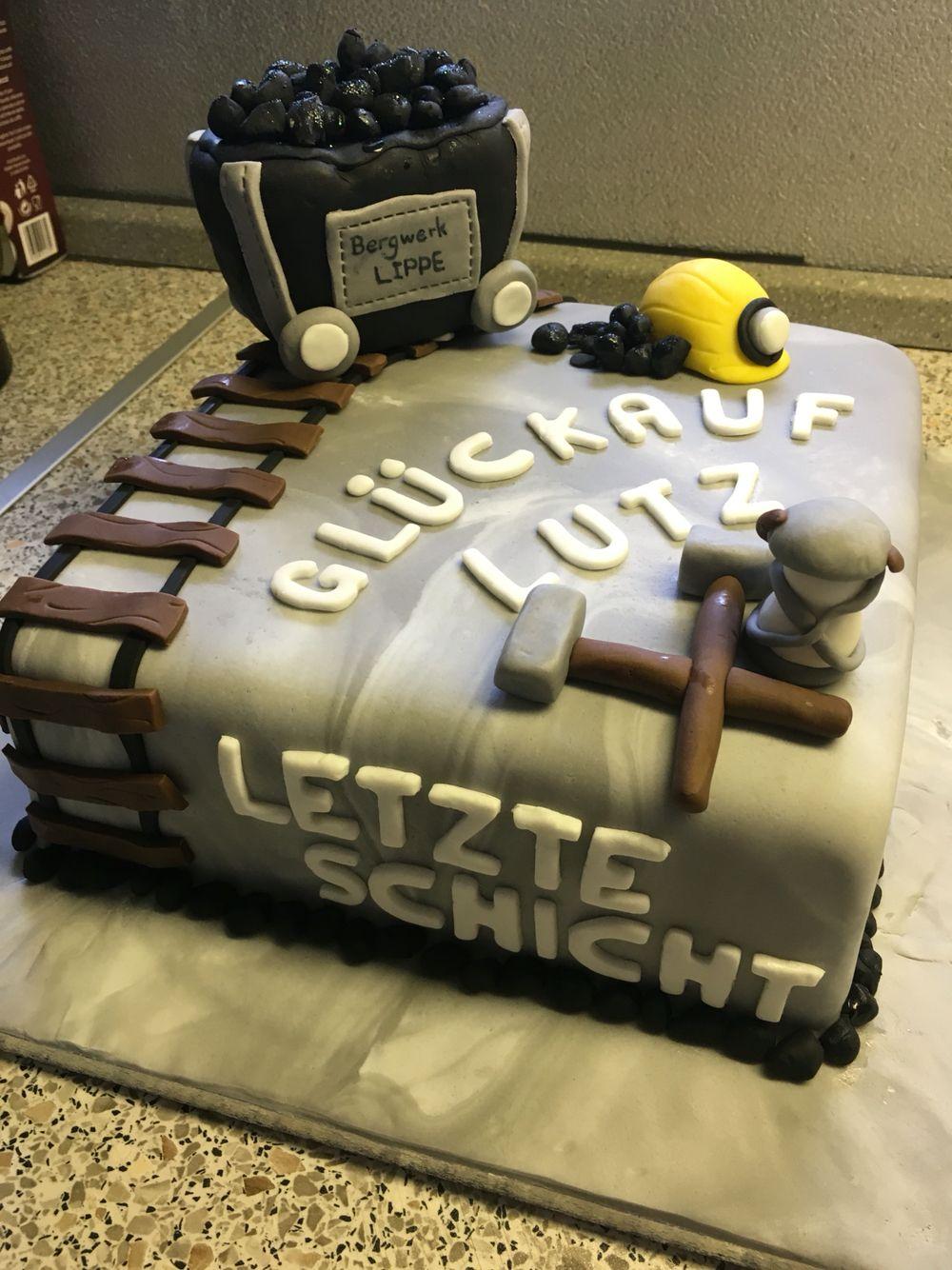 Torten Bergbau Ruhestand Torten Kuchen Kuchen Desserts
