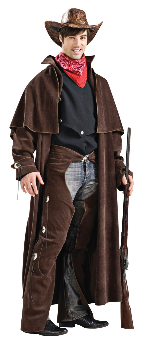 Adult Deluxe Cowboy Costume - Western Costumes   Cowboy ...
