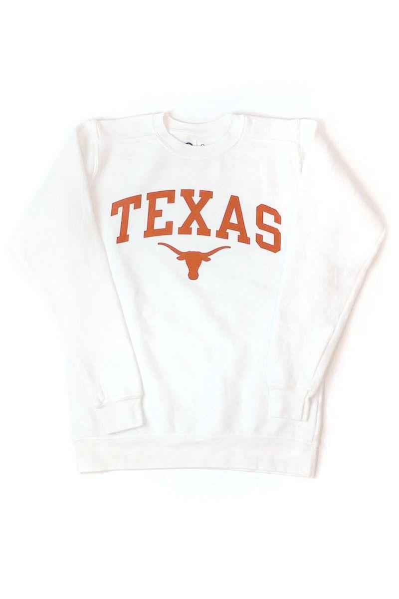Arched Texas Over Bevo Fleece Sweatshirt University Co Op Sweatshirts Sweatshirt Fleece Clothes [ 1200 x 800 Pixel ]