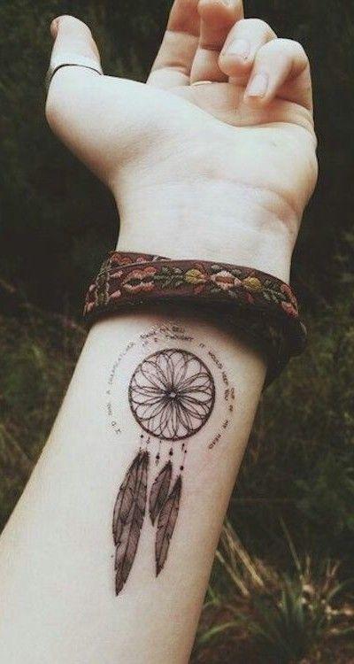 Resultado De Imagen Para Tatuajes De Atrapasueños Hombres Tat