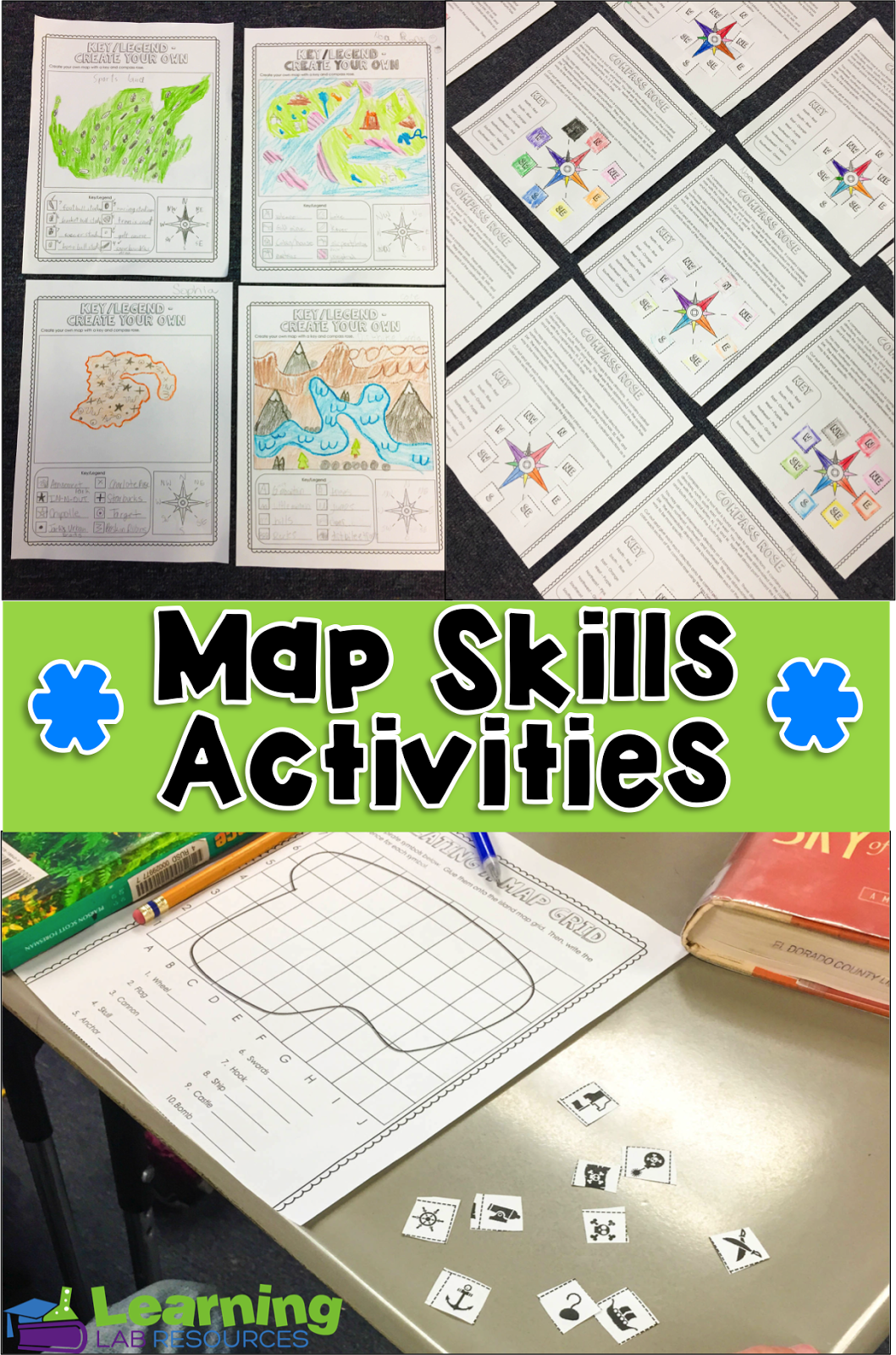 Common Core And So Much More Engaging Map Skills