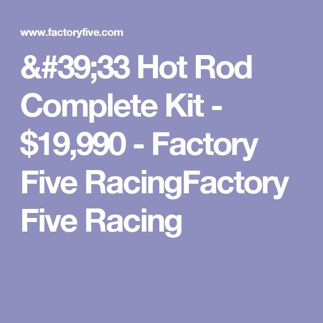 '33 Hot Rod Complete Kit