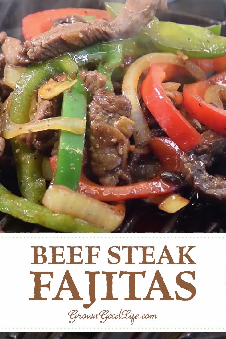 Chili-Lime Beef Steak Fajitas