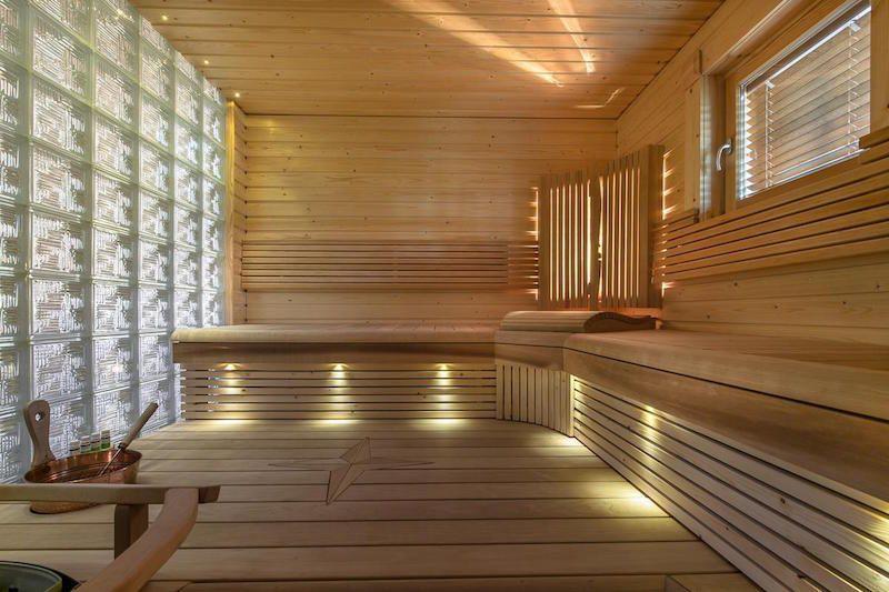 Finnish sauna style