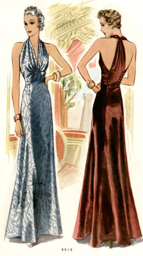 What Did Women Wear in the 1930s? | 30s Fashion | Pinterest | 1930s ...