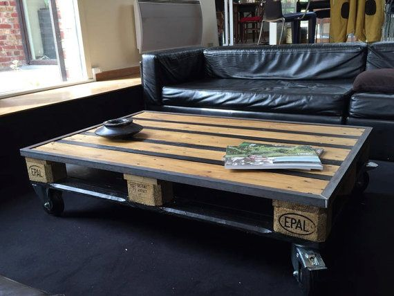 Pallet Coffee Table Industrial Design Furniture Coffee Table