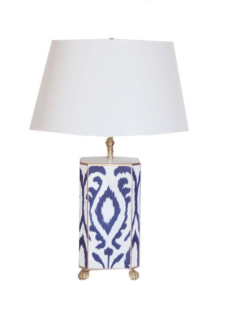 Gold Boho Table Lamp