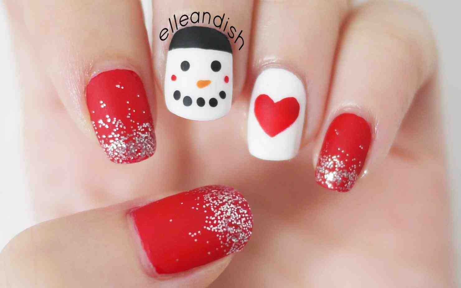 This easy christmas nail designs for kids - 4th of july nails this ...
