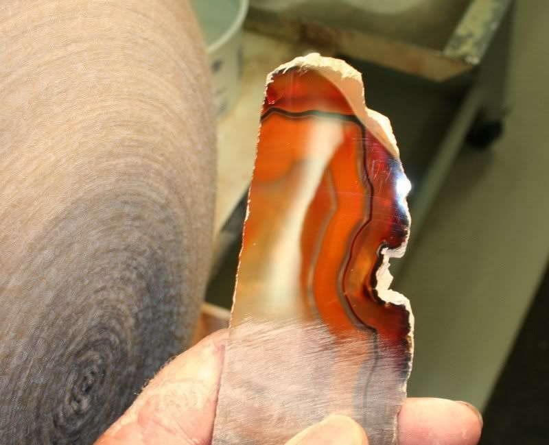 How To Sand And Polish A Slab Or Geode