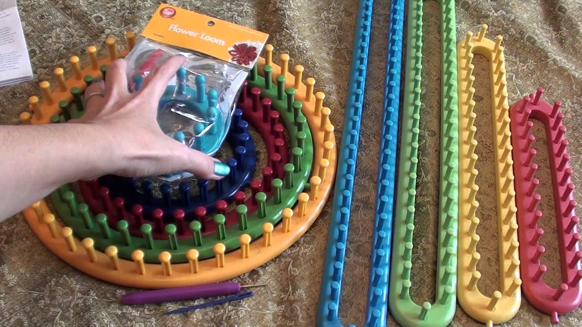 Knifty Knitter Looms And Boye Loom Tools Pinterest
