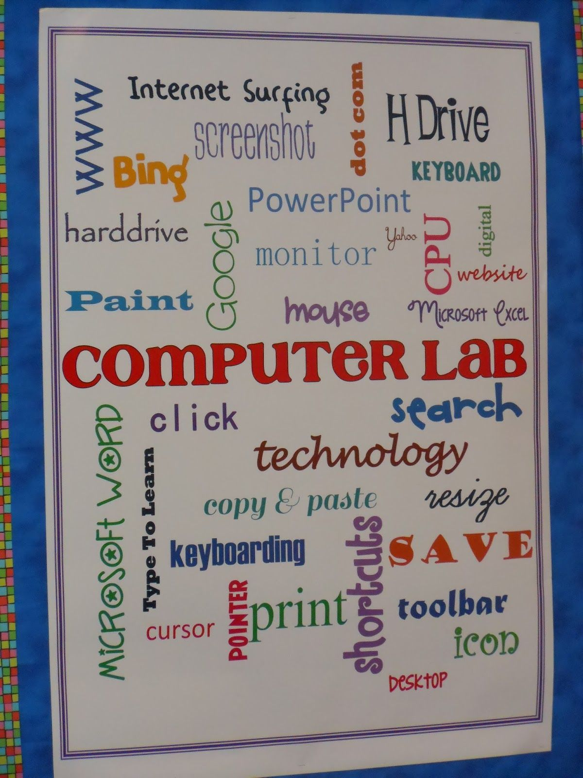 computer lab bulletin board ideas for elementary students. School Starts In LESS THAN A WEEK . I Don\u0027t Feel Ready, But My Room Is! Am Firm Believer Appearing Organized, No Matter How Unorg. Computer Lab Bulletin Board Ideas For Elementary Students L