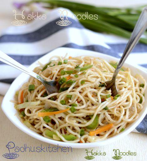 Photo of Hakka Noodles Recipe-Vegetable Hakka Noodles-Indo-Chinese Recipes – Padhuskitchen