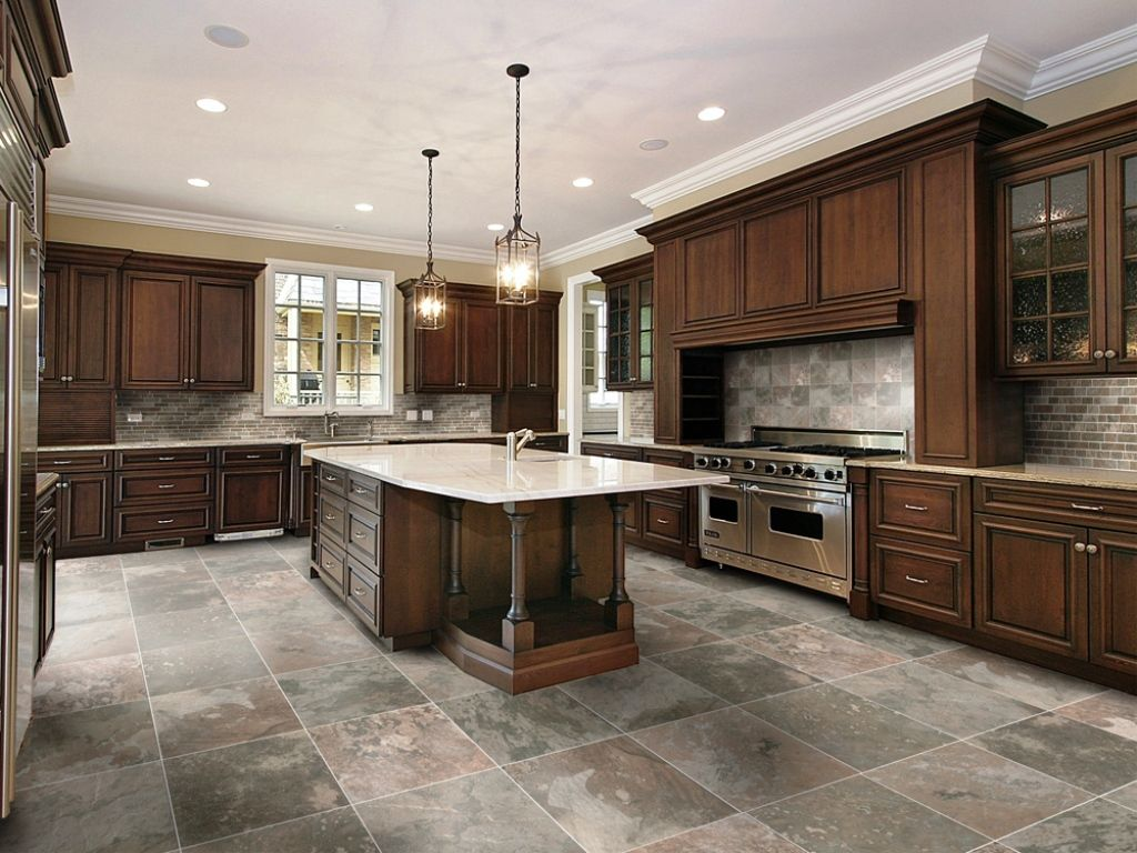 Stone Floors In Kitchen Large Kitchen Floor Tiles Ideas Yes Yes Go