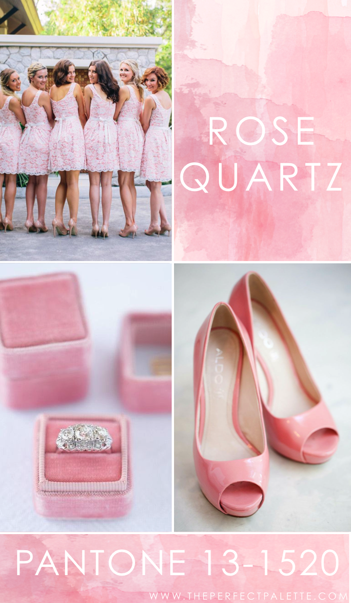Pantone - Rose Quartz 13-1520 | Rosas, Pantone 2016 y Boda