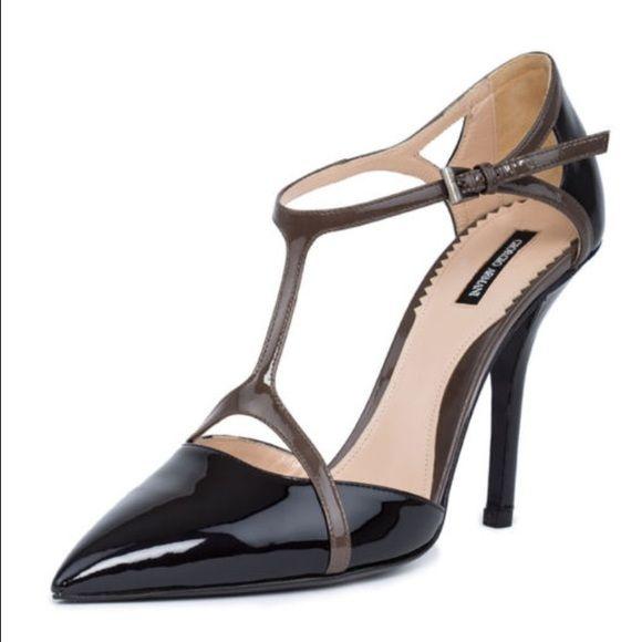 Giorgio Armani Pumps Fashion Shoes Leather Heels Pump Shoes