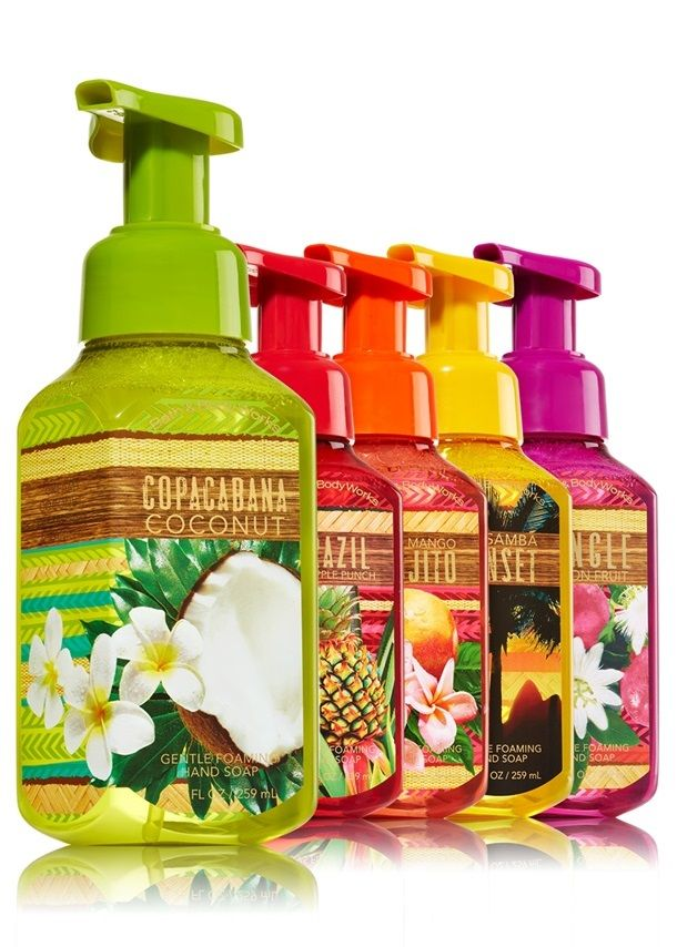 Bath Body Works Brazil Tropical Hand Soaps For Spring 2015