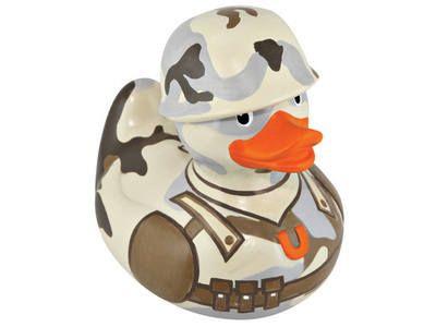 Deluxe G.I. Bud Designer Duck by Design Room - New BNIB
