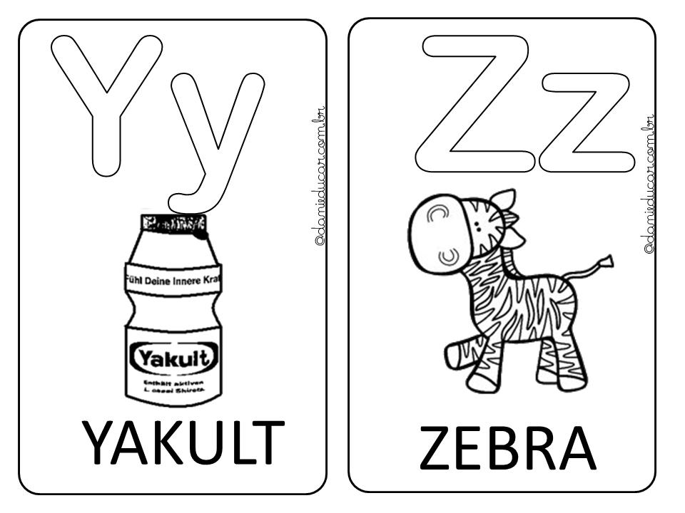 13 Melhores Imagens De Alfabeto Ilustrado Para Colorir Alfabeto