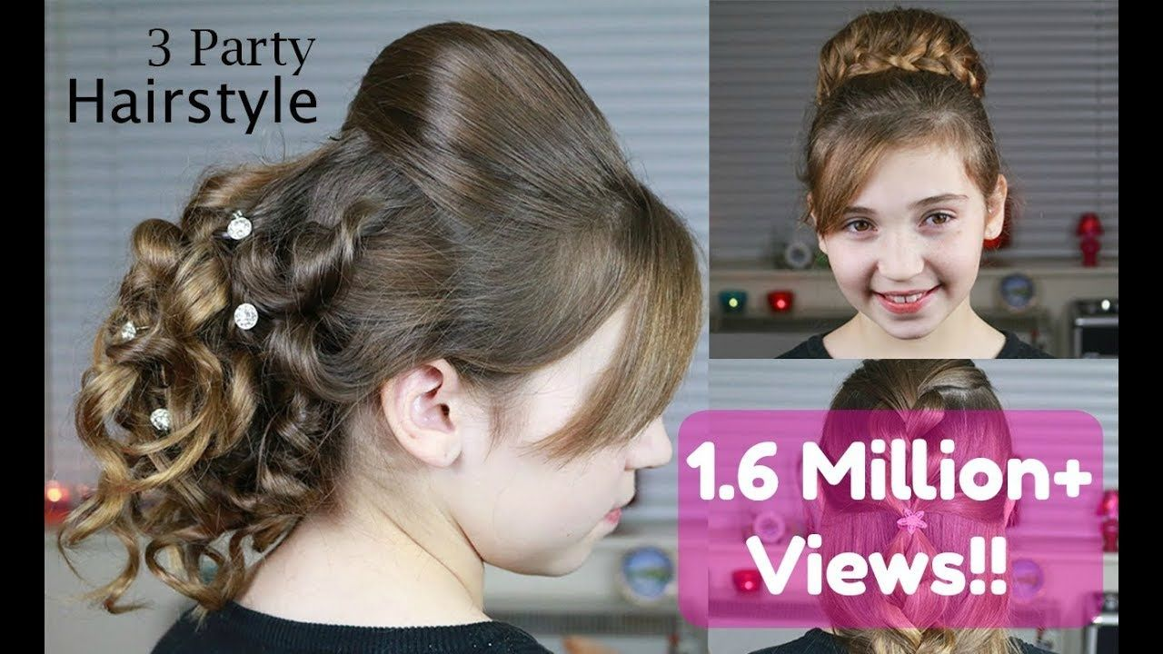 3 party hairstyles   indian wedding hairstyles - watch video