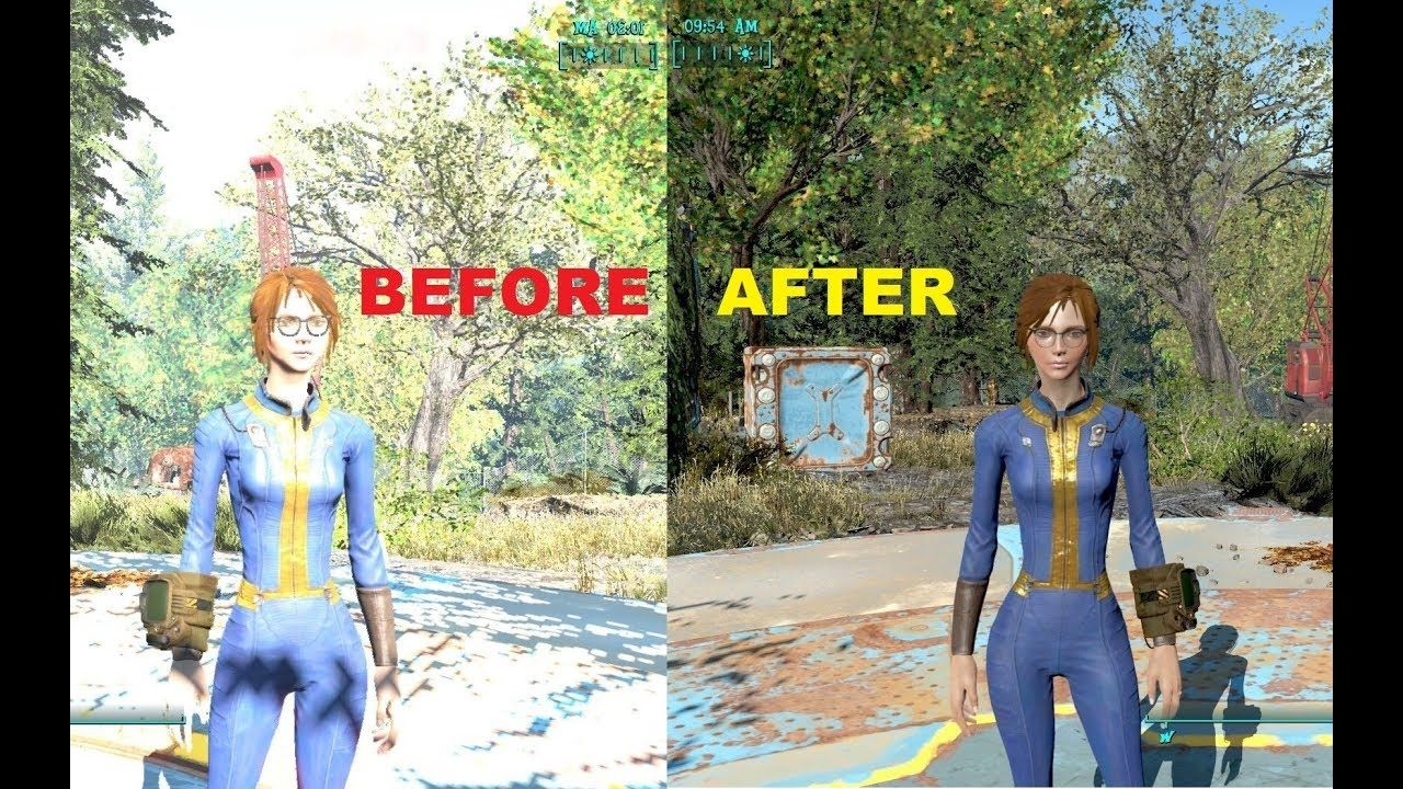 Simplest way to Fix Fallout 4 v1 8 Brightness Issue