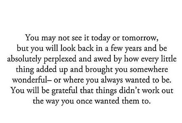 You'll be grateful