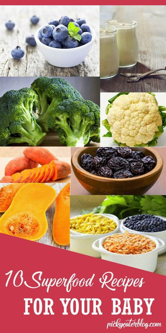 The Top 10 Baby Superfoods and Recipe Ideas | Baby food ...