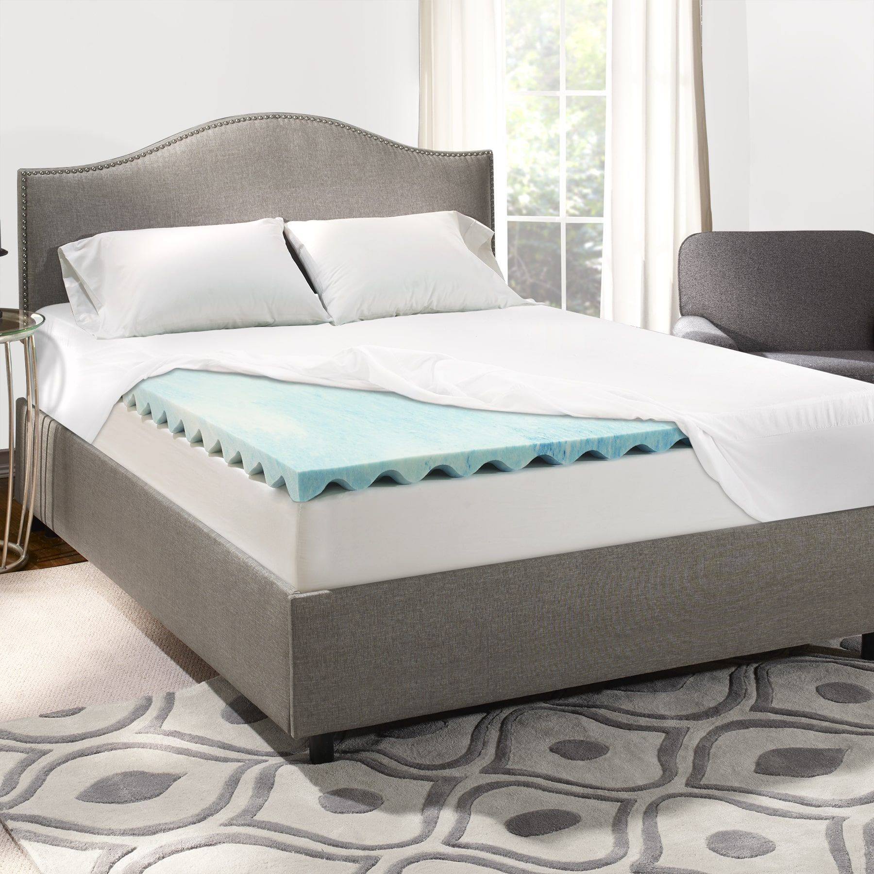 Overstock Com Online Shopping Bedding Furniture Electronics Jewelry Clothing More In 2020 Mattress Memory Foam Mattress Topper Mattress Topper