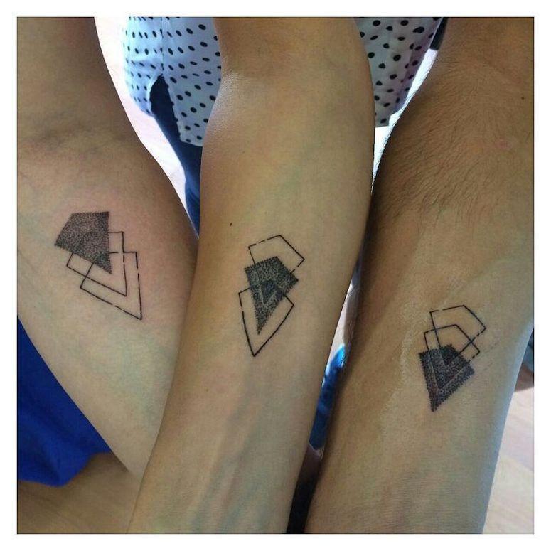 Tatuagem De Triângulo Seus Significados E Inspirações Para
