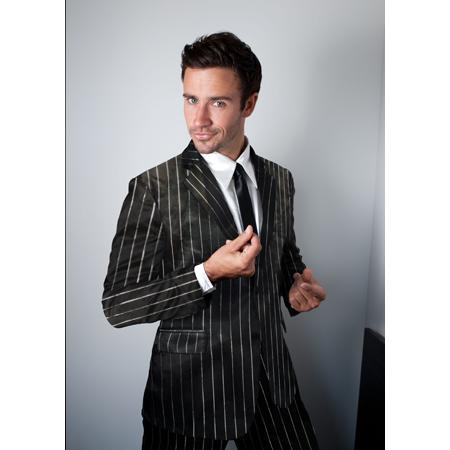 Classic Black Silk Suitjamas | Guy Stuff | Pinterest