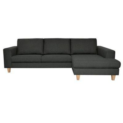 Unique Charcoal Chaise Lounge