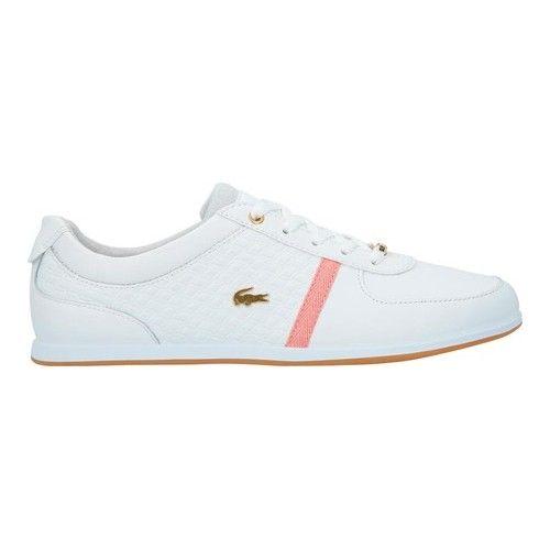 Leather318 Rey Sport Lacoste Caw Whitepink Women's Sneaker xoCBdQreW