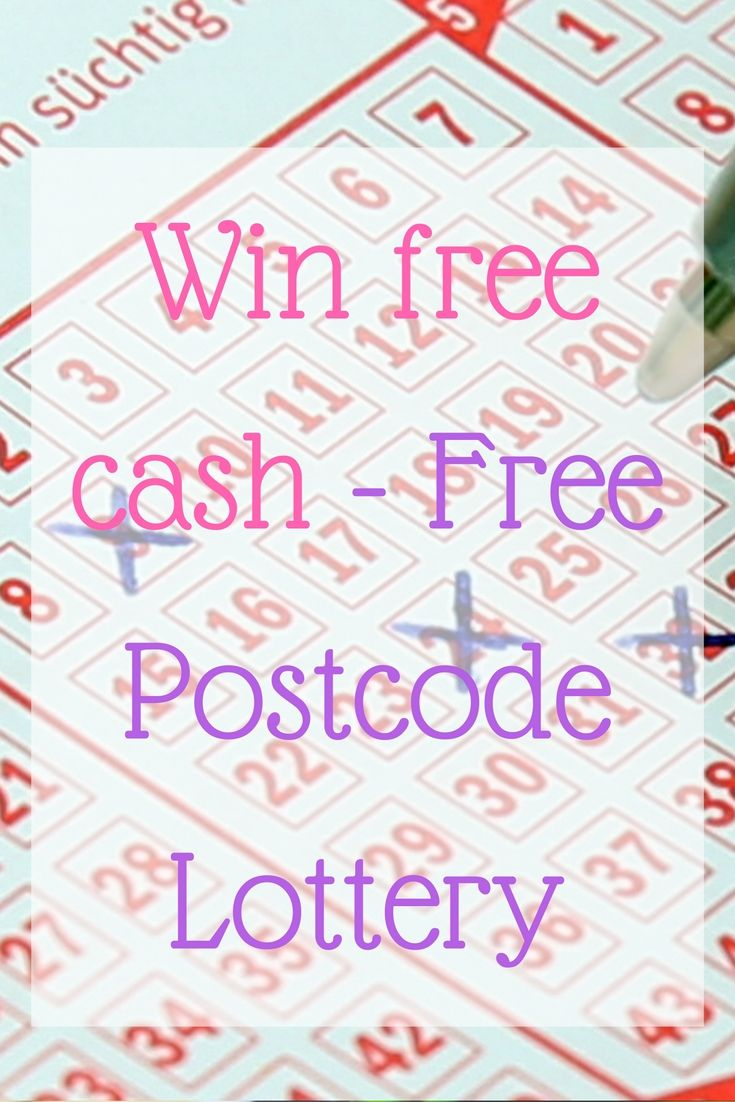 Free Postcode Lottery Free, My favorite things, Prize draw