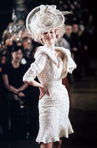 Runway Flashback! Dior 1998 Spring/Summer Haute Couture | POPSUGAR Celebrity