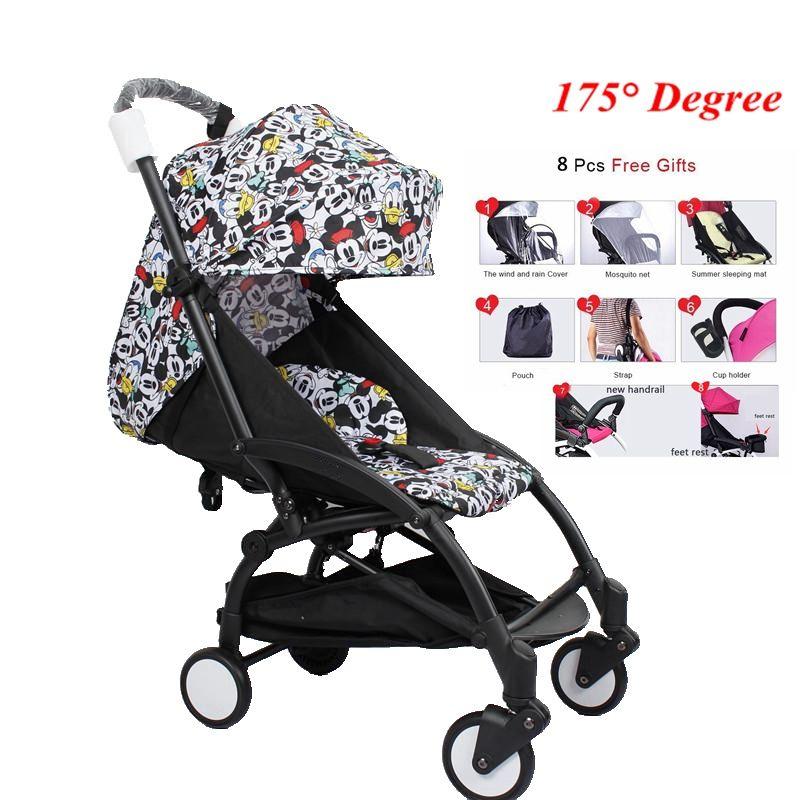 Yoya Kinderwagen 175 Grad Tragbare Kinderwagen Reise Baby